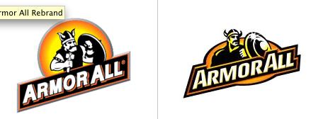 Armor All Logo Rebranding